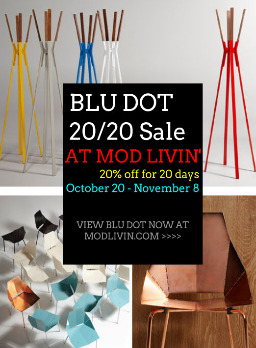 BLU DOT 20/20 SALE at Mod Livin'